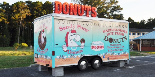 Sandy Pony Donut Trailer