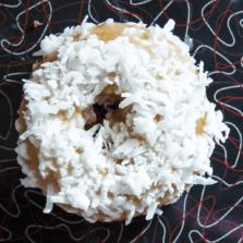 Sea Foam - Honey glaze and coconut donut.