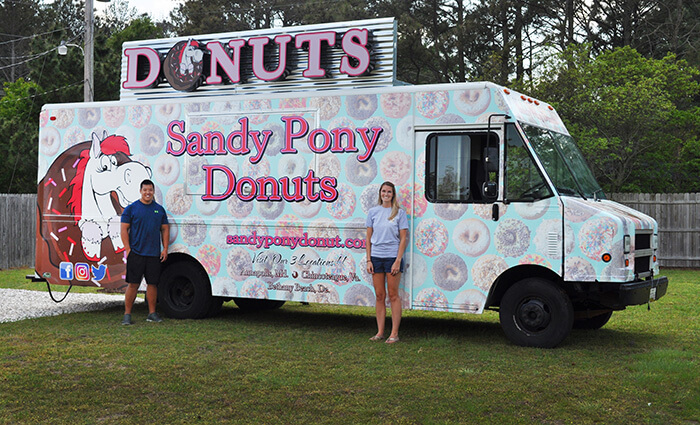 Bethany Beach Sandy Pony Donuts Food Truck