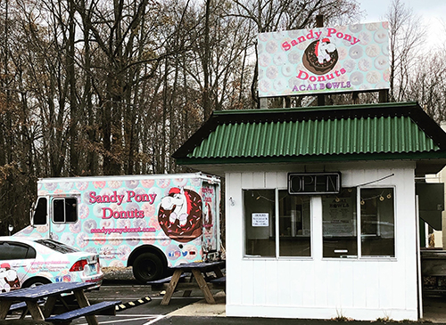sandy pony donuts deale maryland location